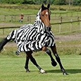 Bucas Buzz-off Zebra Full Neck Big Neck, Groesse:135