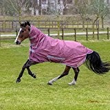 Bucas Freedom Fly Sheet Full Neck - Rose, Groesse:155