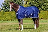 Bucas Freedom Turnout Light Regendecke Weidedecke Modell 2014 Navy-Silber 165 cm