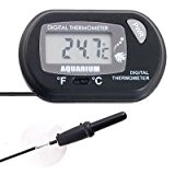 Digital LCD Thermometer f Aquarium -50~+70C+Saugfuß NEU