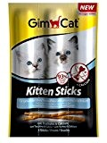 GimCat Kitten Sticks mit Truthahn and Calcium, 3er Pack
