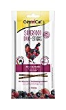 GimCat Superfood Sticks Hühnchen & Waldbeerengeschmack, 24er Pack (24 x 15 g)