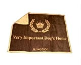 "Hundedecke ""Very important dog's home"" mit Antihaareffekt"