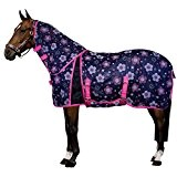 Imperial Riding - Fly blanket Daisy - Fliegendecke - Blumen-Navy - 195