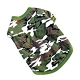 Silvercell Hund Camouflage-Mantel T-Shirt Gr¨¹n M