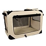 Songmics S - XXXL Hundebox faltbar Oxford Gewebe Katzenbox Hundetransportbox bei