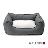 Wolters - Basic Dog Lounge - anthrazit/kiesel - M