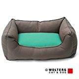 Wolters - Basic Dog Lounge - mocca/mint - S