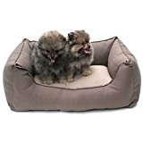 Wolters - Basic Dog Lounge - mocca/sand - S