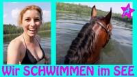 SCHWIMMEN mit Canto, Anja & Solido I Pferde Sommer